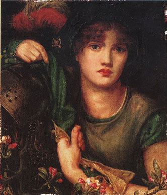 Dante-Gabriel-Rossetti---My-Lady-Greensleeves